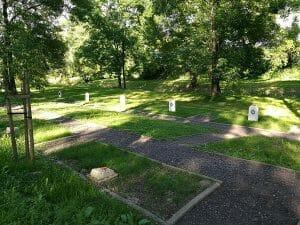 קברים של יהודים ברטונדה בזאמוש'