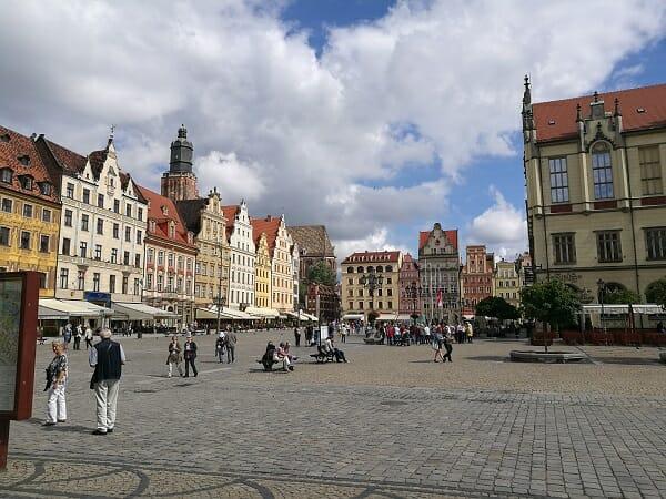כיכר השוק בוורוצלב
