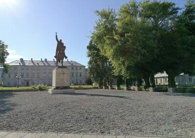פסל של יאן זאמויסקי