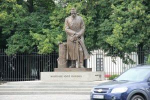 פסל פילסודסקי בוורשה