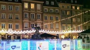 כיכר השוק בוורשה בחגיגות ראש השנה
