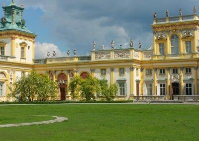 מבט על Wilanów Palace