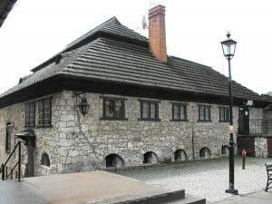 בית כנסת ב- Kazimierz Dolny