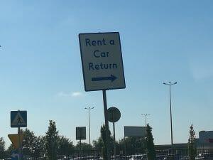 החזרת רכב שכור בורשה