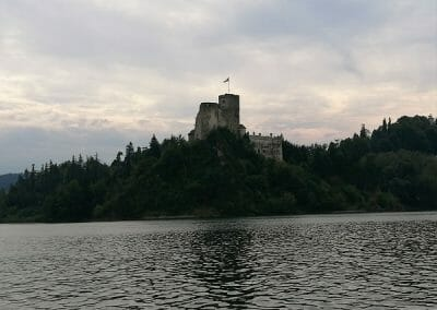 """Zamek """"Dunajec"""" w Niedzicy 2"""