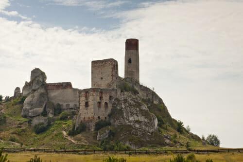 הטירה המלכותית ב- Olsztyn