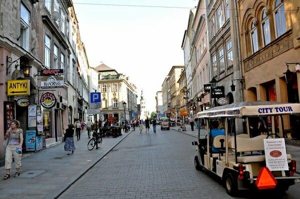 רחוב גרודסקאיה(Grodska Street) בקרקוב