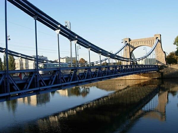 גשר גרונבאלסקי (Grunwaldzki ) בוורוצלב