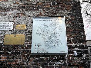 סיור יהודי בוורשה-שרידי חומת גטו