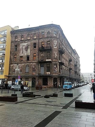 בניין מזמני גטו וורשה