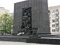 אנדרטה לגיבורי גטו וורשה - קטן