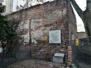 שרידי קיר גטו וורשה