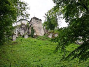 Zamek w Ojcowie 2