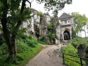 Zamek w Ojcowie 4